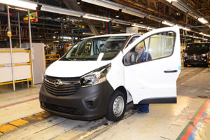 The fate of the Vauxhall Vivaro van plant in Luton is in PSA's hands Credit: GM Vauxhall-Opel
